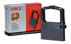 OKI Ribbon Cassette Fabric Nylon Black [for 100 300 Series-9 PIN-182 3-192 3-320 I-3320]
