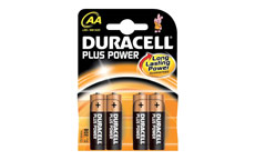 Duracell Plus Power Battery Alkaline 1.5V AA