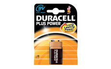 Duracell Plus Power MN1604 Battery Alkaline 9V