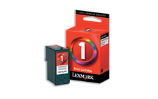 Lexmark No. 1 Inkjet Cartridge Page Life 200pp Colour