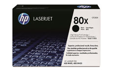 Hewlett Packard No. 80X Laser Toner Cartridge Page Life 6800pp Black
