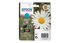 Epson 18 Inkjet Cartridge Daisy Capacity 3.3ml Cyan