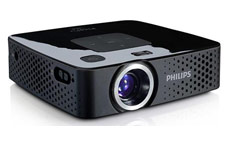 Philips PicoPix Pocket Projector 55 Lumens With Integrated MP4 Player