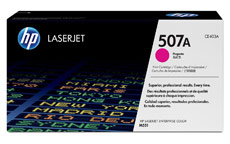 Hewlett Packard [HP] No. 507A Laser Toner Cartridge Page Life 6000pp Magenta