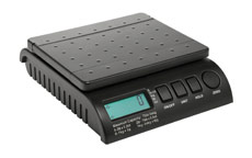 Postship Multi Purpose Scale 5g or 10g Increments Capacity 34kg Black