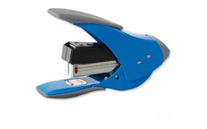 Rexel Easy Touch Stapler Quarter Strip Capacity 20 Sheets Blue