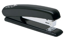 Rapesco Eco Stapler Recycled ABS Casing Full Strip No.s 24/6 26/6 Black