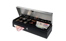 Safescan SD-4617S Flip Top Cash Drawer with 8 Coin and 4 Note Trays