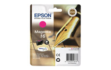 Epson 16 Inkjet Cartridge Pen & Crossword Page Life 165pp Magenta