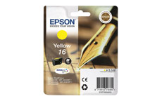 Epson 16 Inkjet Cartridge Pen & Crossword Page Life 165pp Yellow