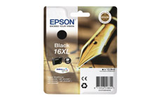 Epson 16XL Inkjet Cartridge Pen & Crossword Page Life 500pp Black