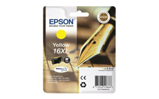 Epson 16XL Inkjet Cartridge Pen & Crossword Page Life 450pp Yellow