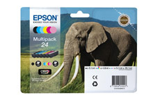 Epson 24 Inkjet Cartridge Multipack Capacity 29.1ml B/C/M/Y/LC/LM