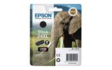 Epson 24XL Inkjet Cartridge Capacity 10ml Page Life 500pp Black