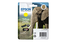 Epson 24XL Inkjet Cartridge Capacity 8.7ml Page Life 740pp Yellow