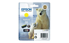 Epson 26 Inkjet Cartridge Polar Bear Capacity 4.5ml Yellow
