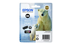 Epson 26XL Inkjet Cartridge Polar Bear Capacity 8.7ml Photo Black