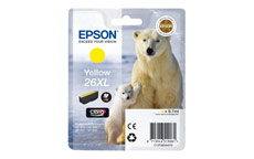 Epson 26XL Inkjet Cartridge Polar Bear Capacity 9.7ml Yellow
