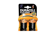 Duracell Plus Power Battery Alkaline 1.5V D