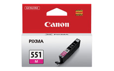Canon CLI-551M Inkjet Cartridge Page Life 298pp Magenta