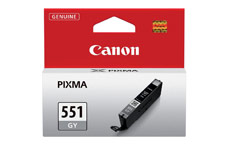 Canon CLI-551GY Inkjet Cartridge Page Life 125 Photos Grey