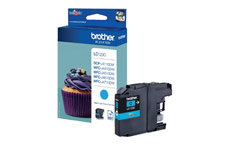 Brother Inkjet Cartridge Page Life 600pp Cyan
