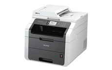 Brother MFC-9140CDN Colour Laser Multifunctional Printer Duplex Network Wi-Fi A4