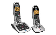 BT 4500 Twin Handset DECT Telephone with Answering Machine