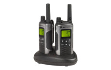 Motorola TLKR T80 2-way Radios Band PMR446 8 Channels 121 Codes Range 10km