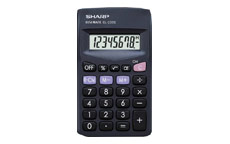 Sharp EL233SBK Calculator Pocket