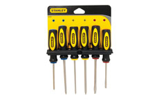Stanley Screwdriver Set 6 Piece