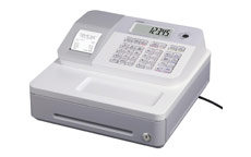 Casio SE-G1 Cash Register White
