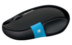 Microsoft Sculpt Comfort Mouse Wireless Black