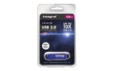 Integral Courier Flash Drive USB 3.0 128GB