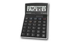 Aurora Calculator Semi Desktop Multifunction 12 Digit 3 Key Memory
