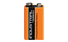 Duracell Industrial Battery Alkaline 9V