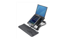 Fellowes Smart Suites Workstation 4 Port USB Height Adjustable Capacity 17in