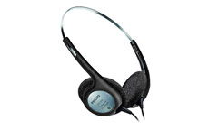 Philips Headphones Walkman Style for Desktop Dictation Equipment