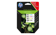 Hewlett Packard No.  950XL/951XL Inkjet Cartridge Combo Multi Pack CMYK