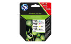 Hewlett Packard No.  932XL/933XL Inkjet Cartridge Combo Multi Pack CMYK
