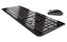 Cherry DW3000 Wireless Desktop Keyboard and Optical Mouse 2.4GHz Black