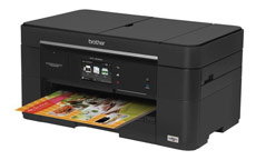 Brother MFC-J5620DW Colour Inkjet Multifunction Printer Duplex Wi-Fi 20ppm A3