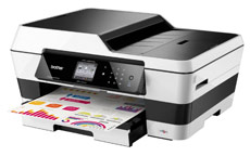 Brother MFC-J6520DW Colour Inkjet Multifunction Printer WiFi 20ipm A3