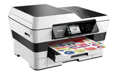 Brother MFC-J6920DW Colour Inkjet Multifunction Printer WiFi 20ipm A3