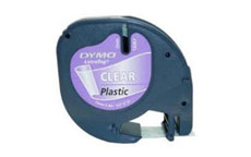 Dymo 12267 Black on Clear