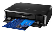 Canon Pixma iP7250 Colour Inkjet Multifunction Printer Duplex WiFi A4
