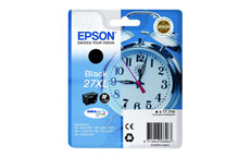 Epson 27XL Inkjet Cartridge Alarm Clock Capacity 17.7ml Black