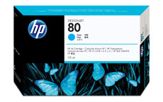 HP No. 80 Inkjet Cartridge Cyan