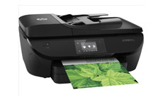 Hewlett Packard Officejet 5740 Colour Multifunctional Inkjet Printer