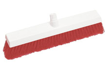 Scott Young Research Broom Head Soft 12 Inch Red